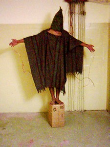 Satar Jabar, photographed by US military personnel at Abu Ghraib Prison in 2003