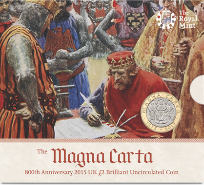 "The Royal Mint Anniversary Page. King John never actually signed Magna Carta – nor was it called at the time ""Magna Carta""."