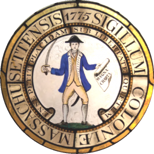 Great Seal of the Commonwealth of Massachusetts, 1775