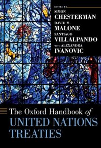 The Oxford Handbook of United Nations Treaties